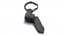 高級織花布領帶(窄版)N390-3.5