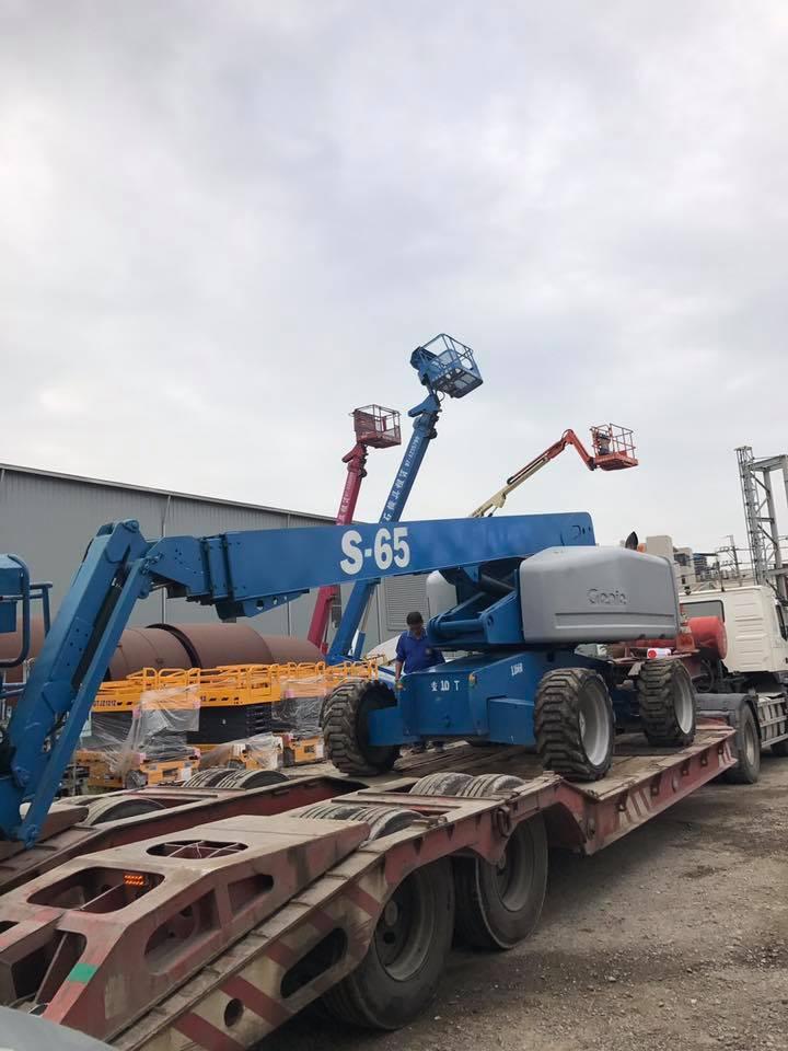 GENIE S65 21M高空車交車暨操作保養教學-大寮長春化工