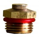 4分固定噴頭(小平)裝銅