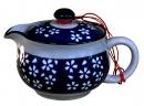 櫻花三孔茶壺