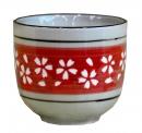 櫻花茶杯-紅