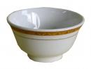 金白花小湯碗10cm