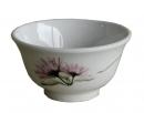 粉透花小湯碗-10cm