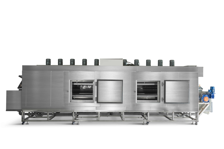 零下80℃超低溫隧道式急速冷凍系統 -80℃ Individually Quick Frozen Tunnel Freezer