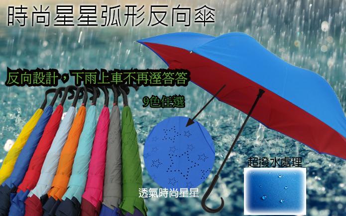 反向直立手開反向傘
