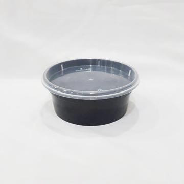 DPW- 8OZ湯杯透明+PP透明蓋
