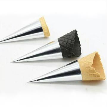 小三角甜筒紙-銀色(圓錐型紙套)