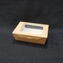 牛卡紙開窗沙拉盒-1號