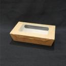 牛卡紙開窗沙拉盒-2號