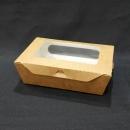 牛卡紙開窗沙拉盒-3號