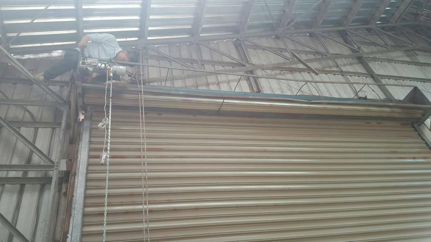 鐵捲門維修施工