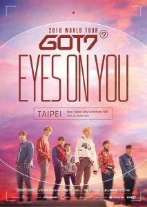 GOT7 2018 WORLD TOUR EYES ON YOU