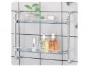 (平壁式)雙層玻璃置物架-109
