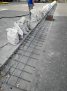 部隊停車場斜坡工程