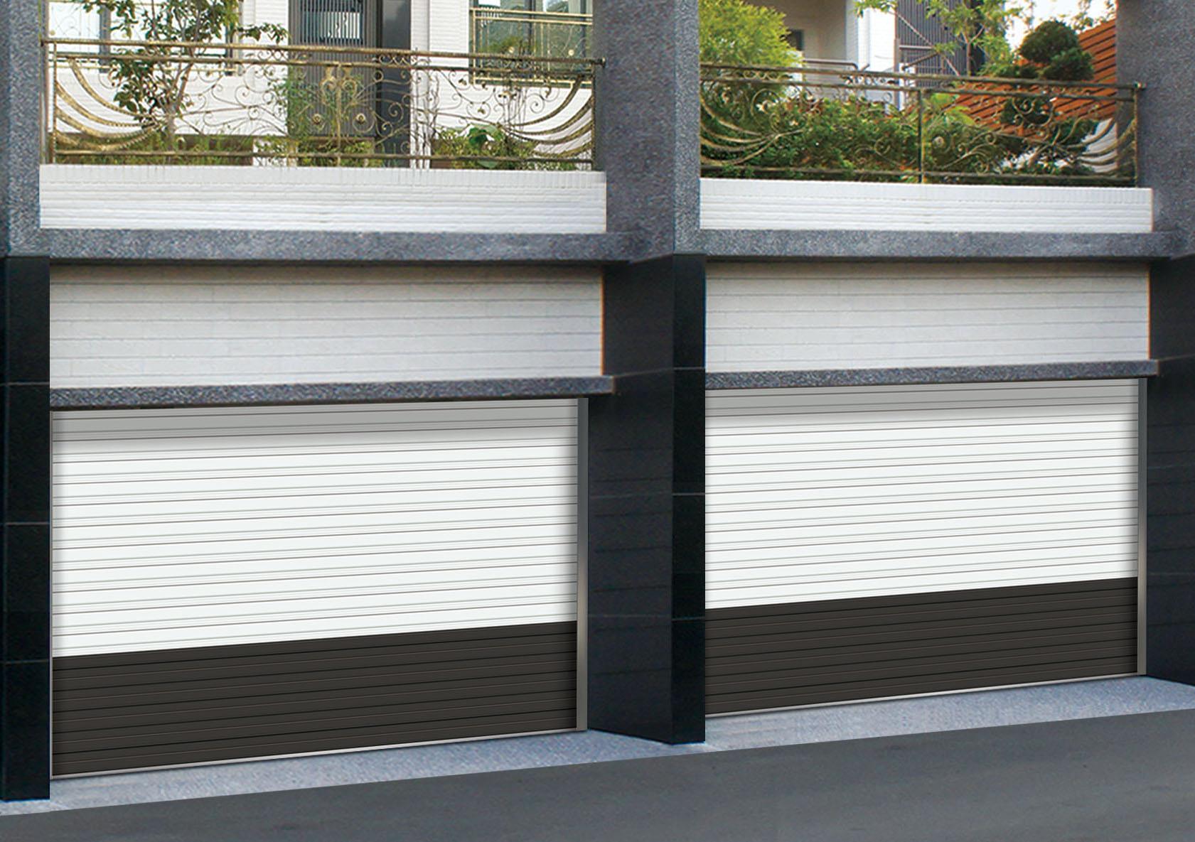 215-5型單層鋁合金快速安全捲門(ㄧ大ㄧ小)