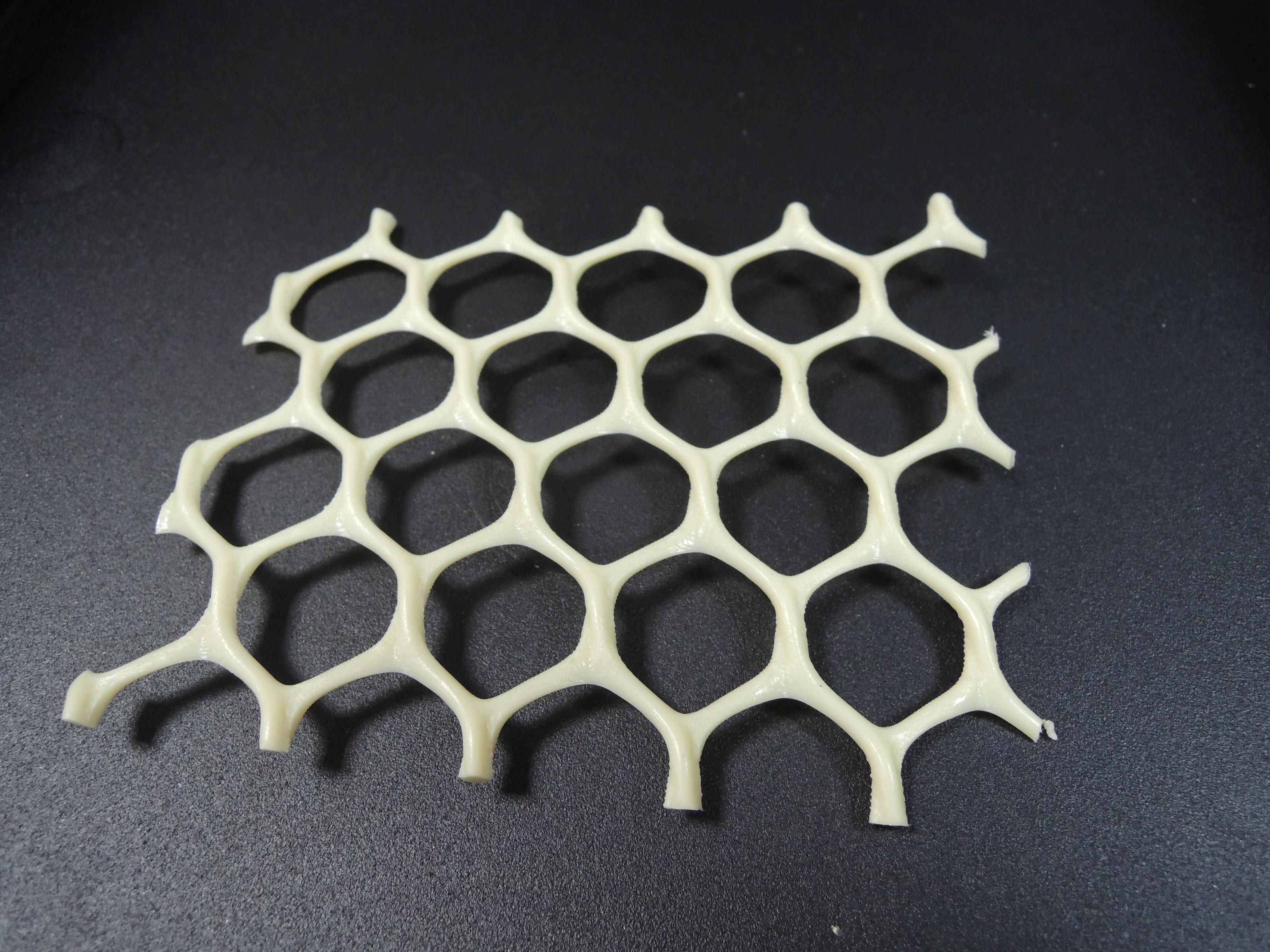 米白色塑膠網