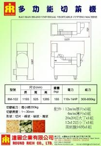 13-2.BM-102A(變頻式)多功能切菜機-2