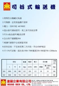02.2BM-N04可拆式輸送機