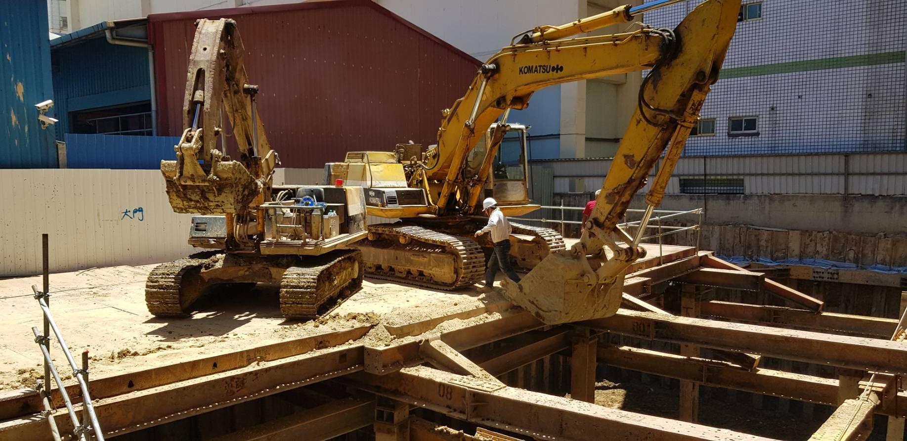 地下室開挖