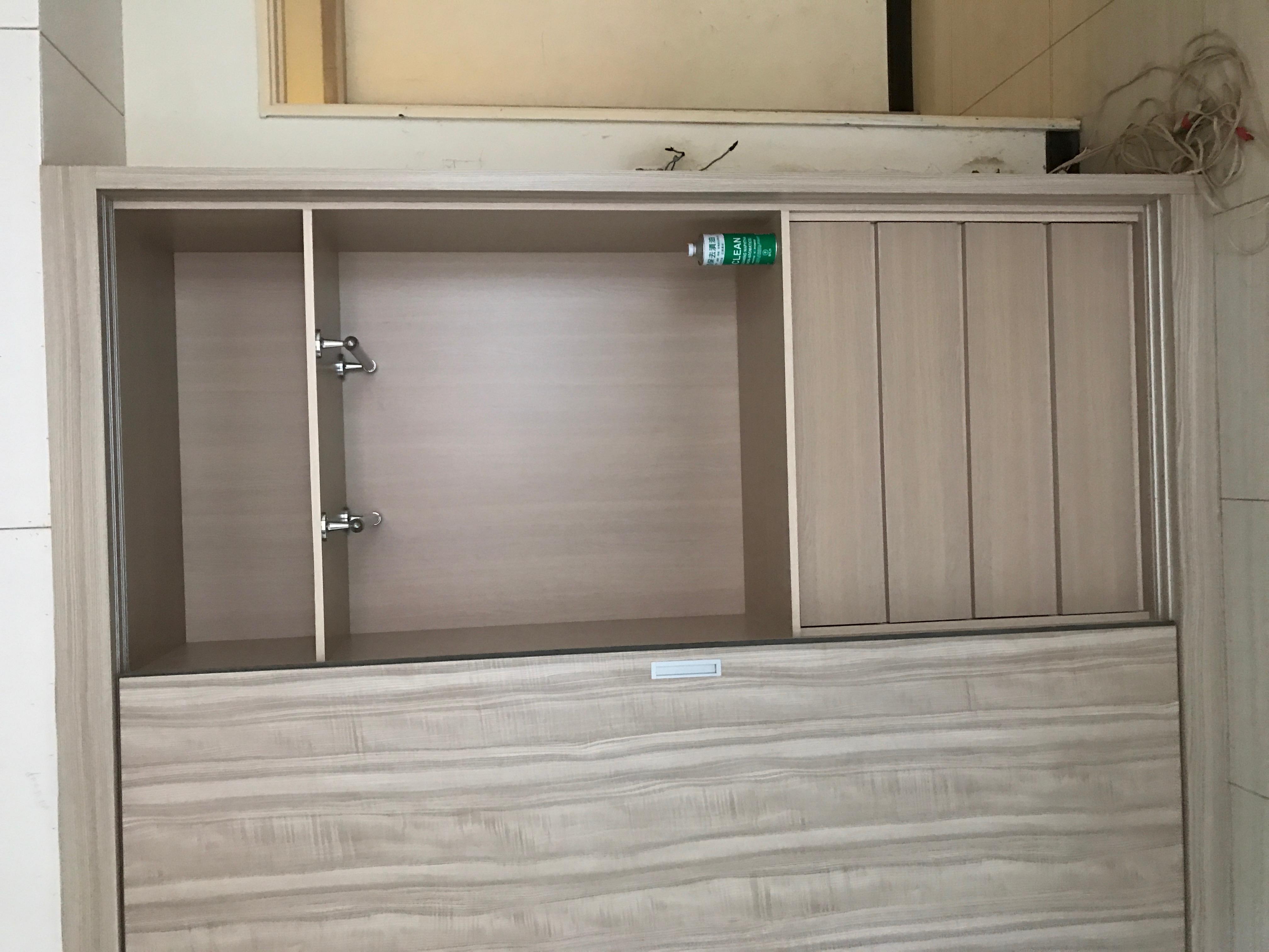 台北市住家室內裝潢衣櫃系統櫃木工 (1)