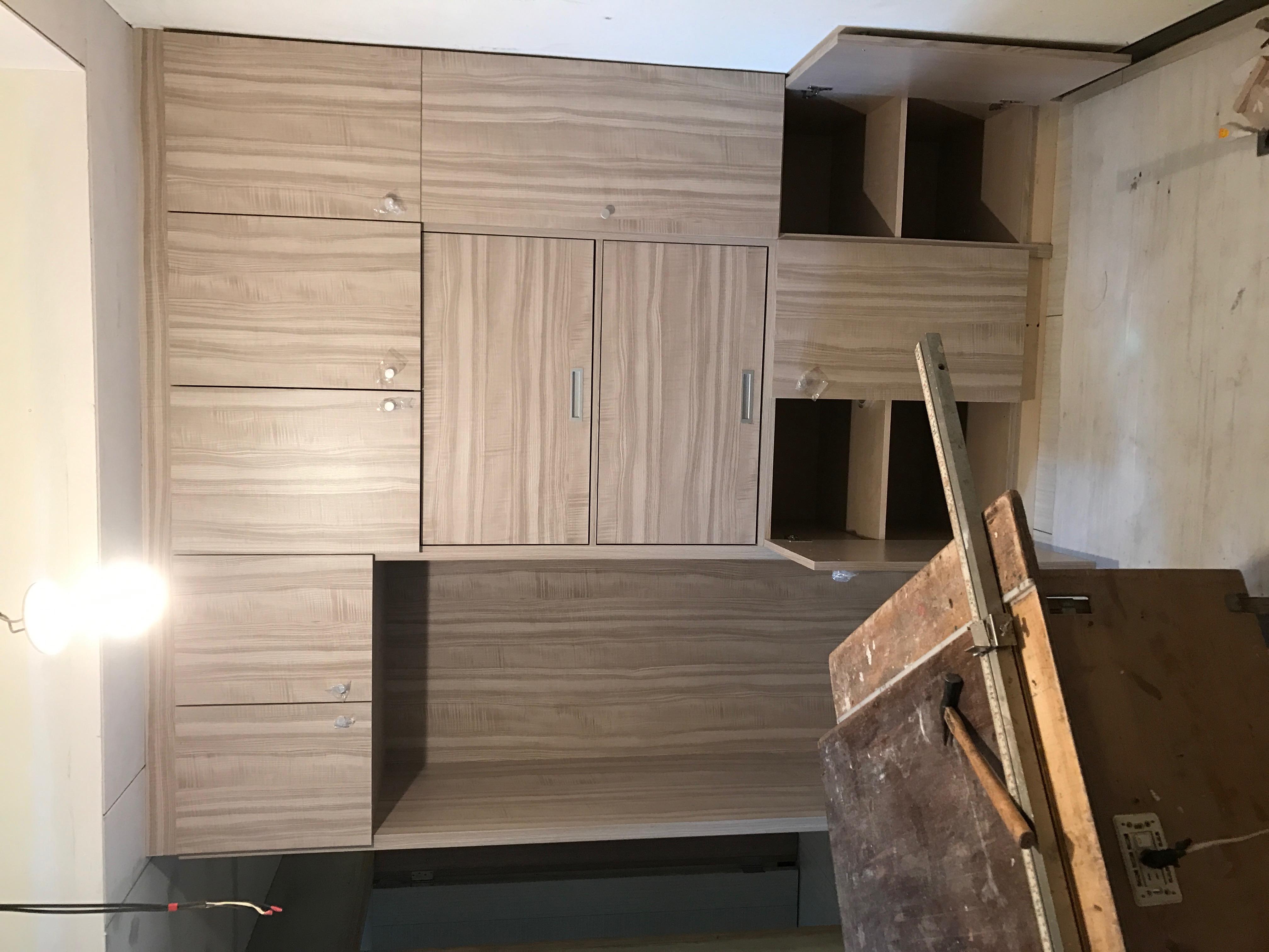 台北市住家室內裝潢衣櫃系統櫃木工 (7)