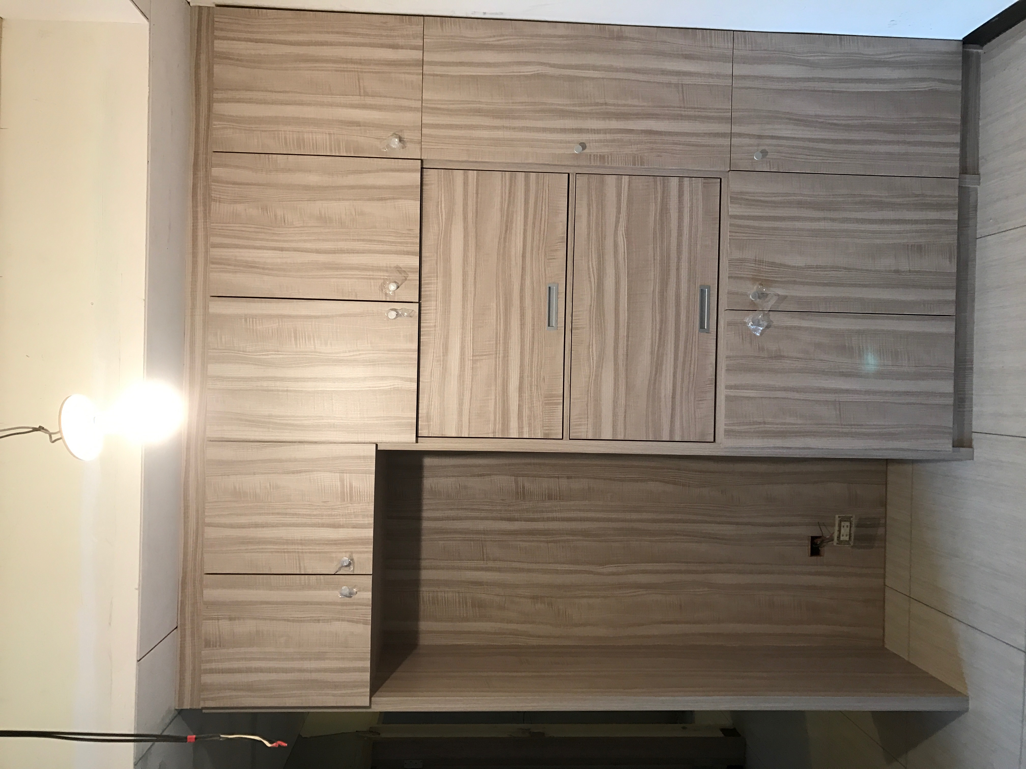 台北市住家室內裝潢衣櫃系統櫃木工 (8)