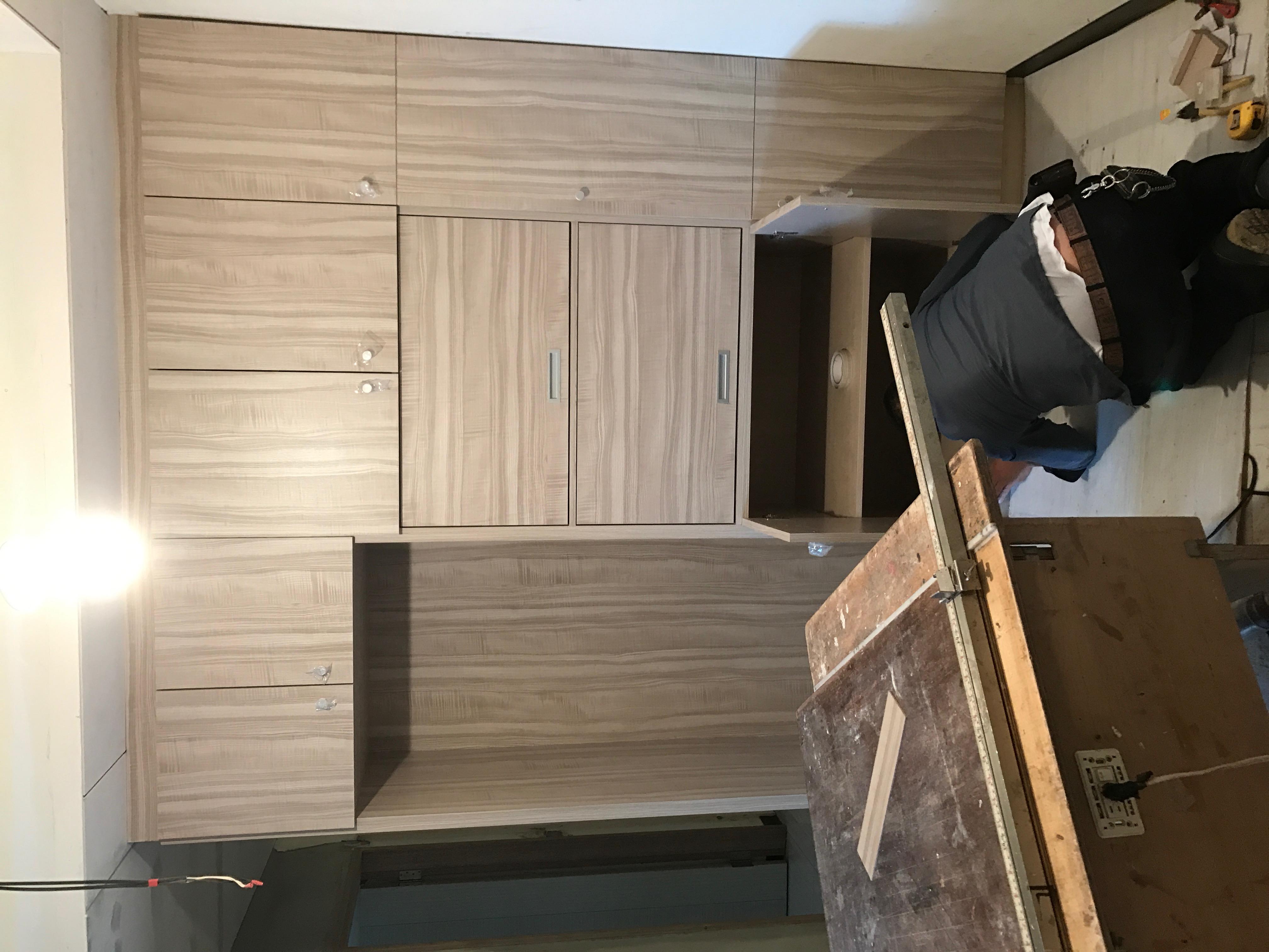 台北市住家室內裝潢衣櫃系統櫃木工 (9)
