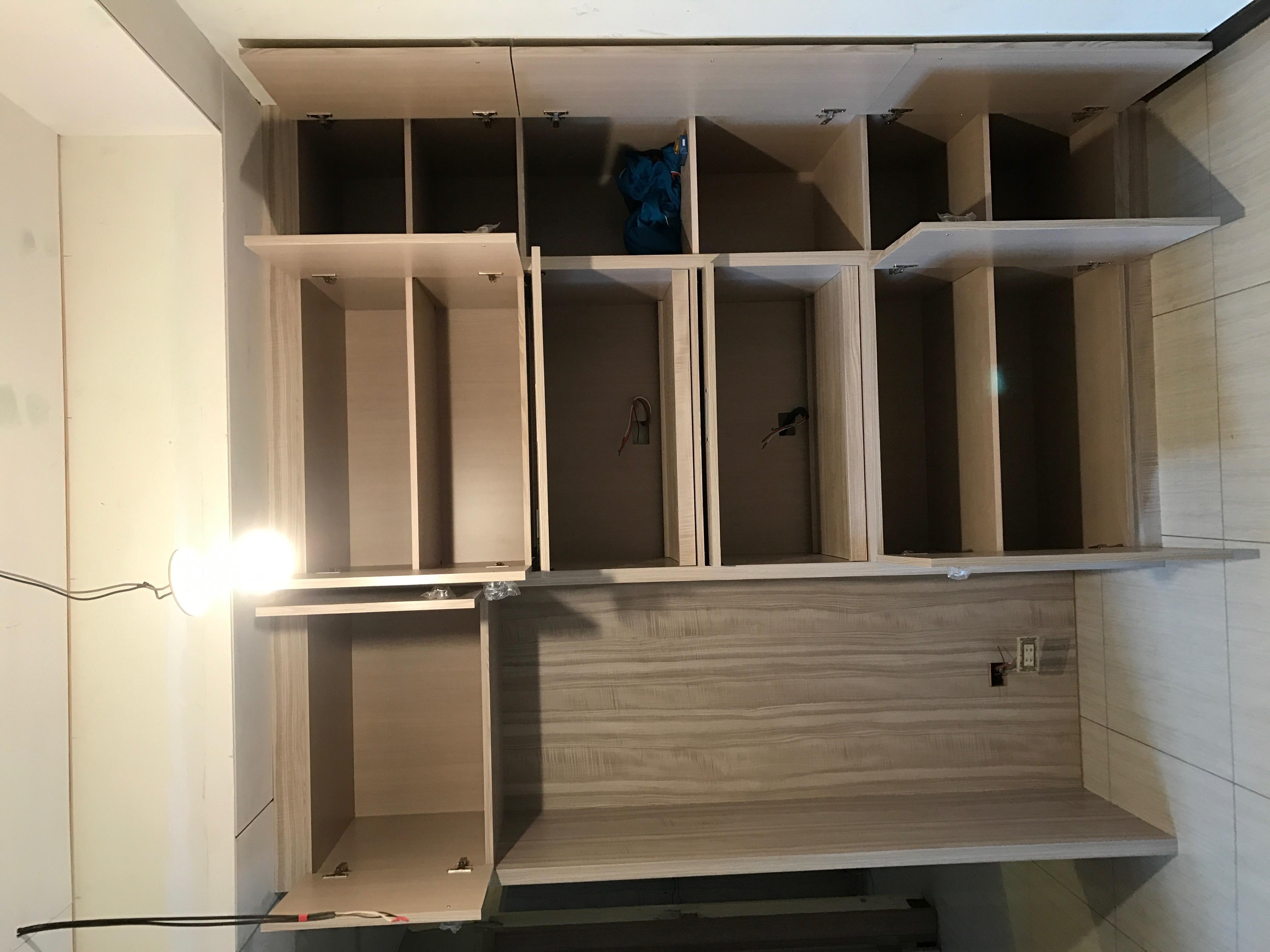 台北市住家室內裝潢衣櫃系統櫃木工 (11)