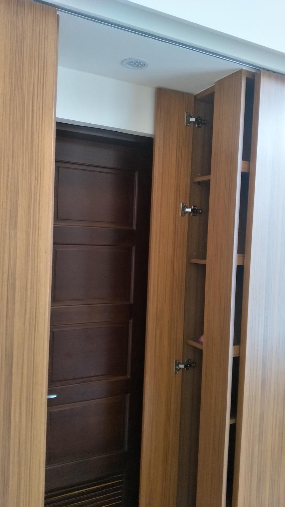 台北市住家室內裝潢衣櫃系統櫃木工 (27)