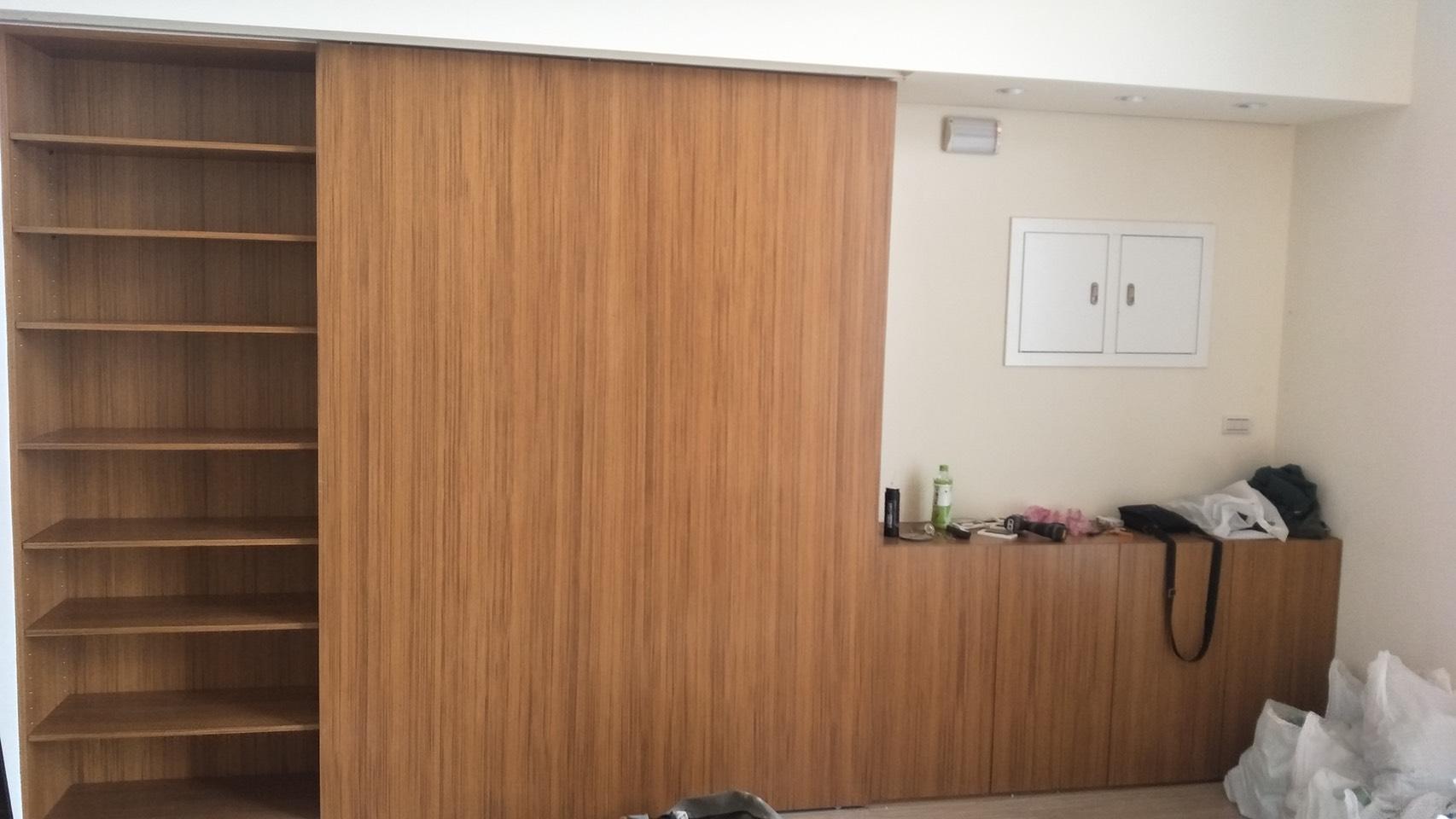 台北市住家室內裝潢衣櫃系統櫃木工 (28)
