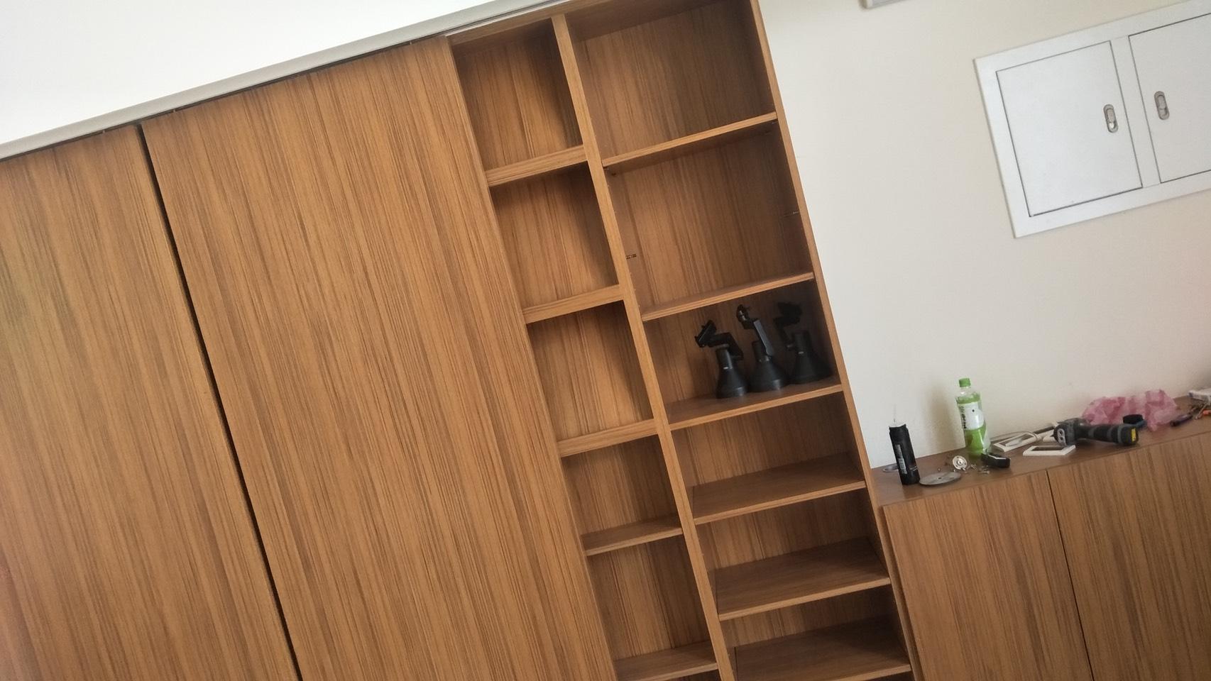 台北市住家室內裝潢衣櫃系統櫃木工 (29)