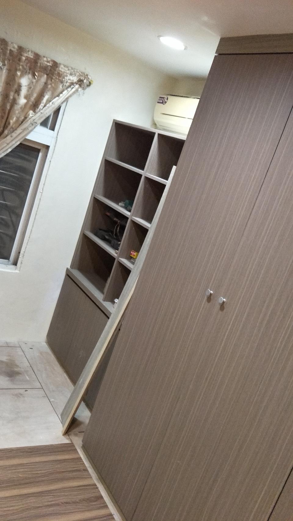 台北市住家室內裝潢衣櫃系統櫃木工 (32)
