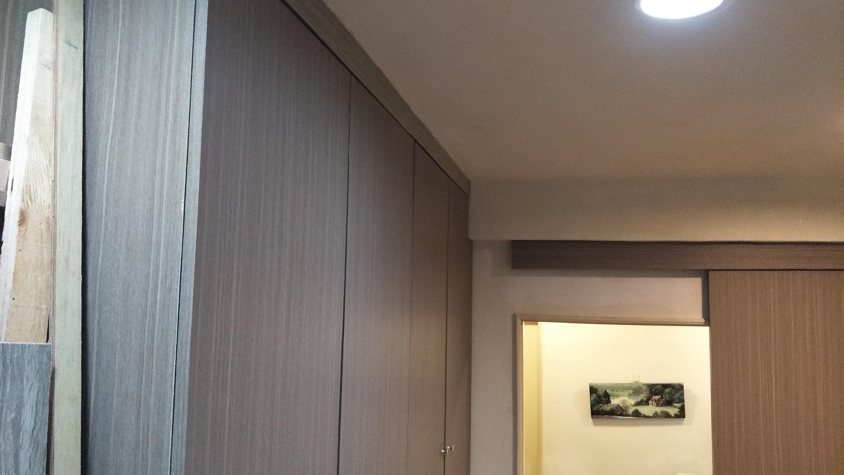 台北市住家室內裝潢衣櫃系統櫃木工 (33)