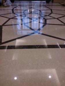 地板打蠟-基隆社區大廳地板石材保養晶化打蠟