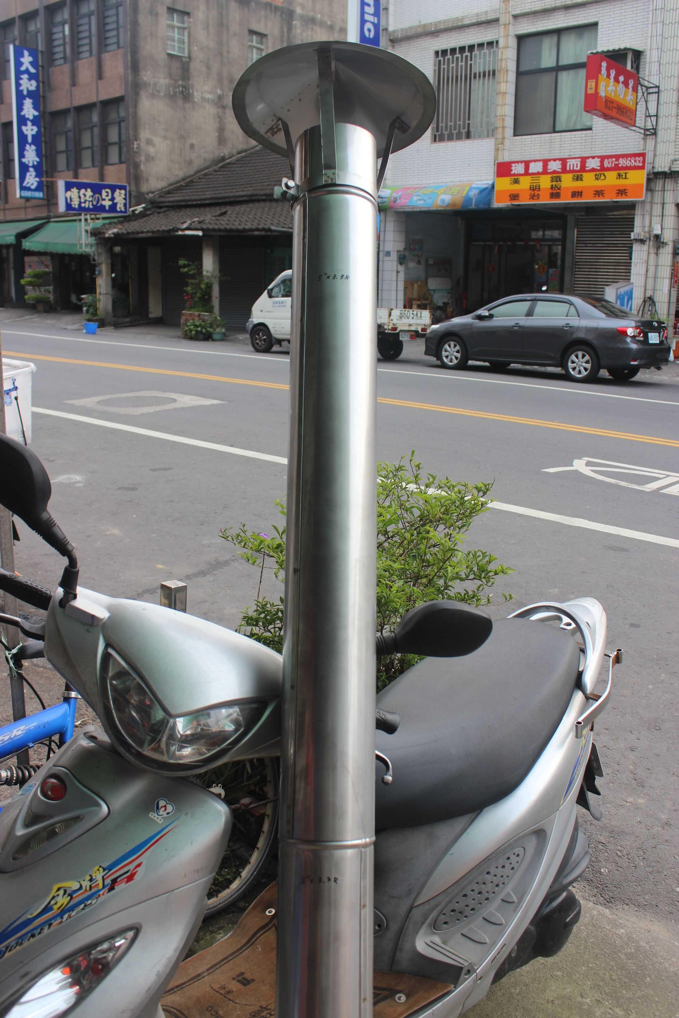 白鐵煙囪管(3.3尺-4尺可串聯)