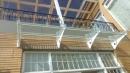 鋁鋼構玻璃採光罩2