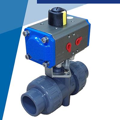 氣動PVC球閥-插管式