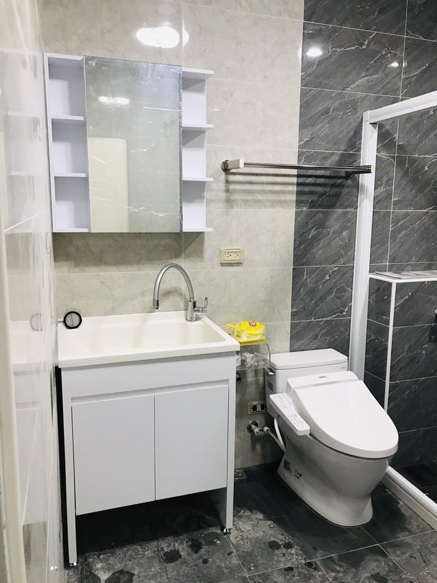 人造石洗衣槽浴櫃組+單體馬桶+WASHLET