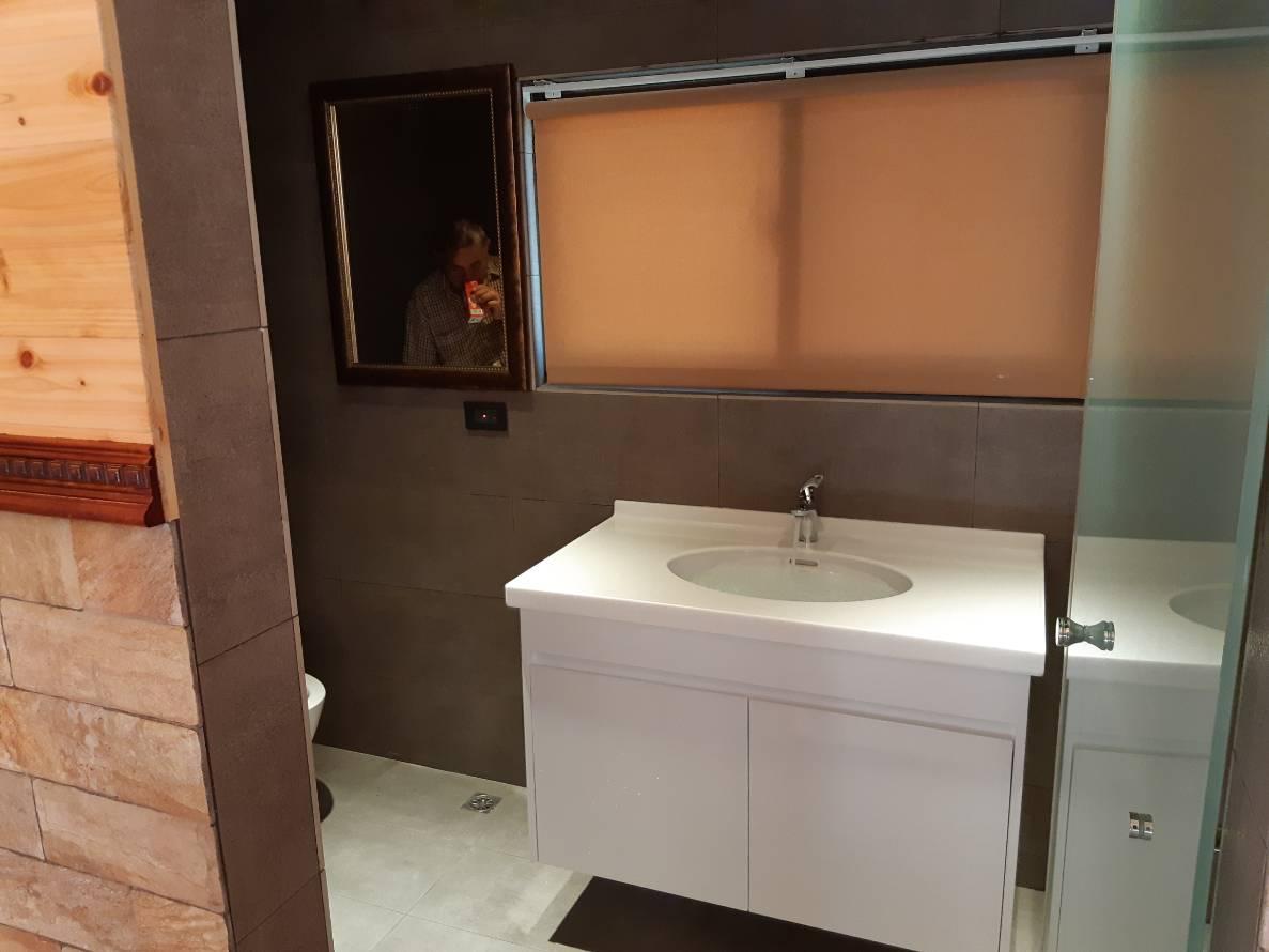 訂製人造石+訂製發泡板浴櫃+下嵌盆組-2