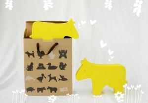 中型動物-台灣黃牛
