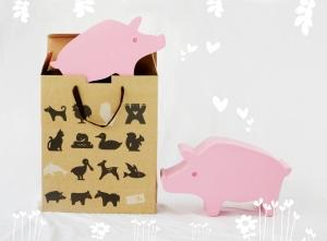 中型動物-台灣山豬