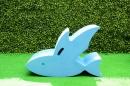 立體大型動物組-飛魚