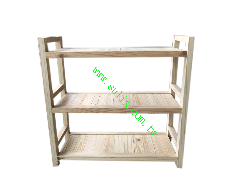 實木置物架(2.7尺)