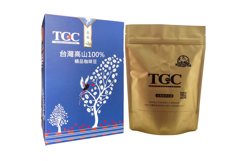 臺灣古坑特級咖啡豆 半磅