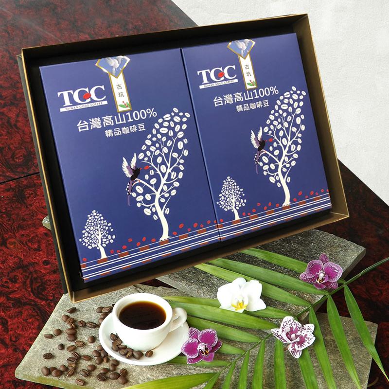 臺灣古坑特級咖啡豆禮盒