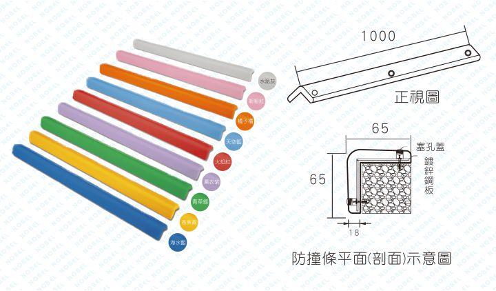防護條(螺絲固定型)NB-65