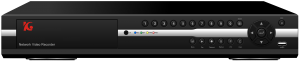 H.264 2M四硬碟款數位監視錄放影機