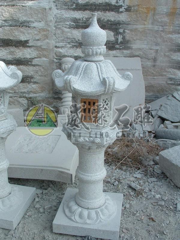 石燈,石擋-6