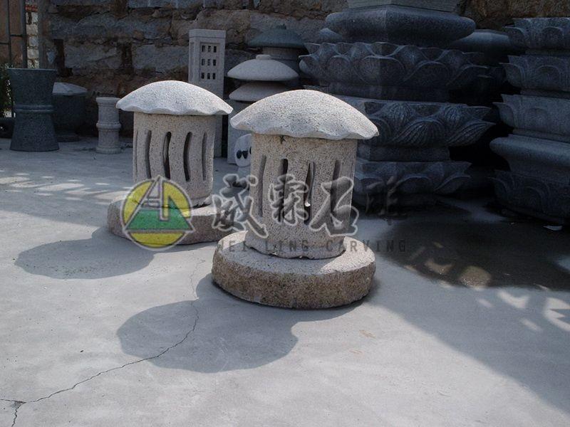 石燈,石擋-37
