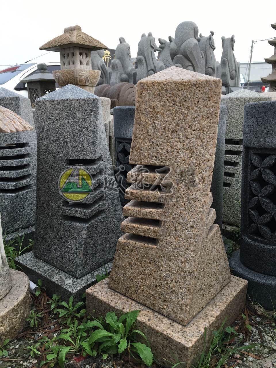 石燈,石擋-54
